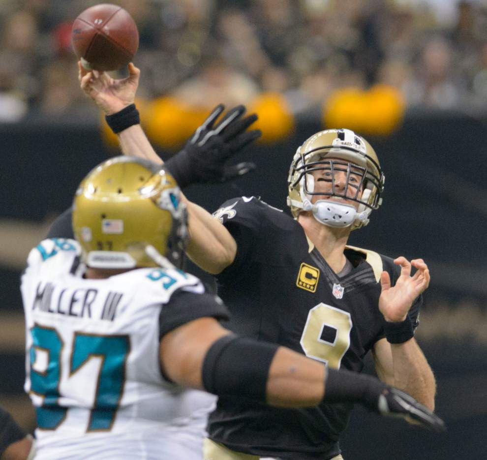 Saints 38, Jaguars 27: Nick Underhill's three and out _lowres
