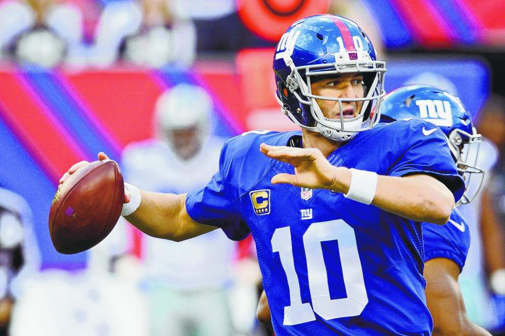 Lewis: Eli Manning just keeps rolling along, looks for first win against Saints in Superdome _lowres