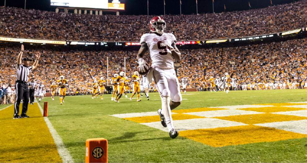 Amari Cooper's nine catches, 224 yards help carry No. 4 Alabama over Tennessee _lowres