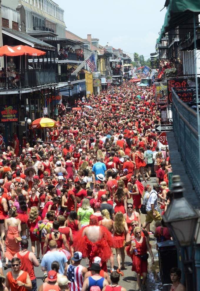 Photos: Red Dress Run brings the heat to New Orleans streets _lowres