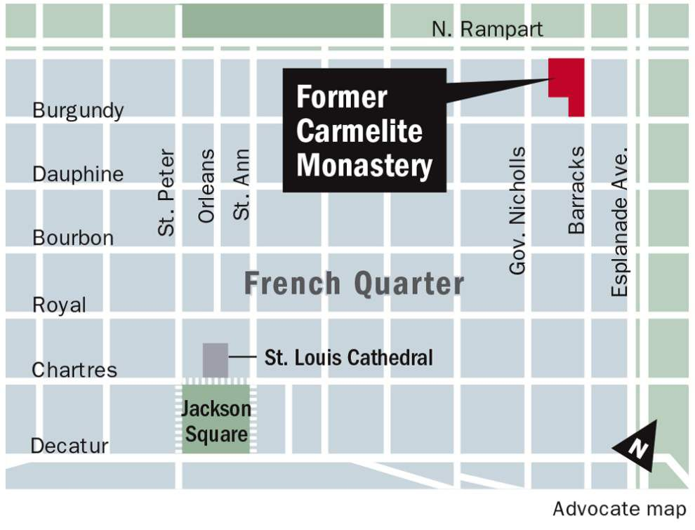Sidney Torres on buying Carmelite Monastery in French Quarter: I plan to make it 'beautiful and useful again' _lowres