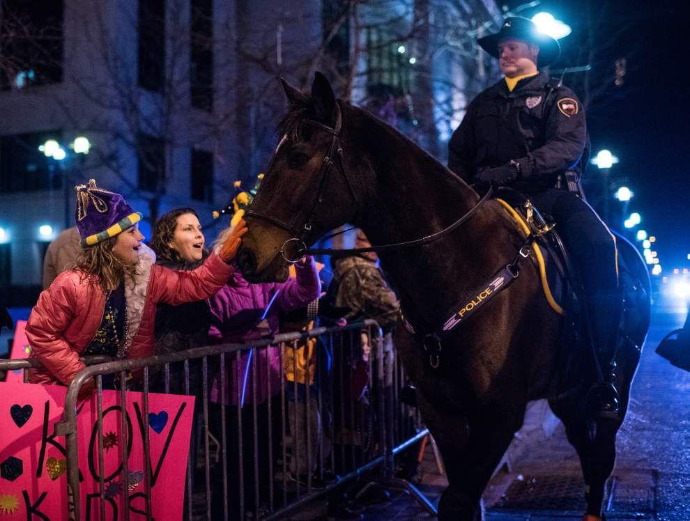 Photos: Lafayette celebrates Mardi Gras with Queen Evangeline's Parade _lowres