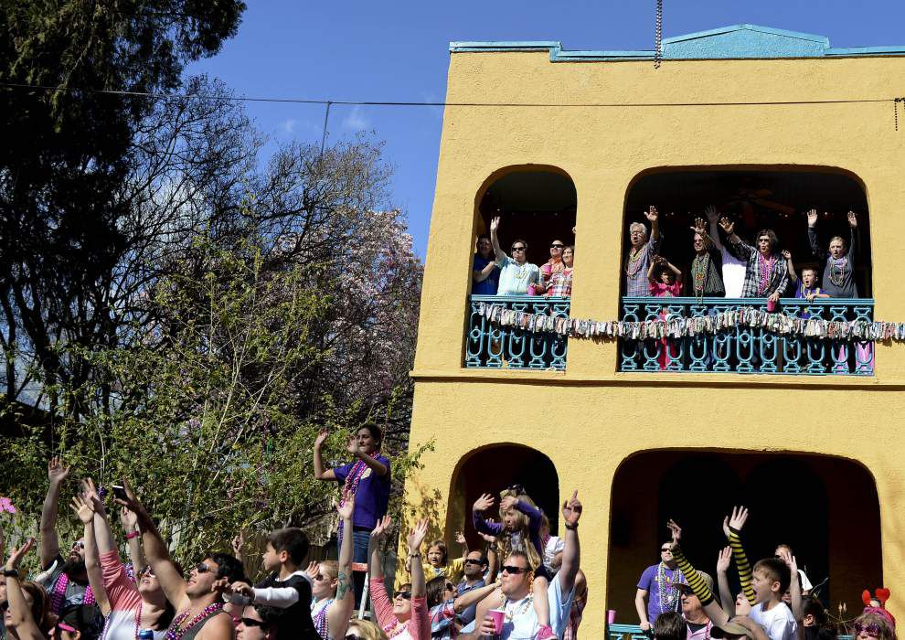 One of Baton Rouge's biggest celebrations, Spanish Town parade wows Valentine's Day crowd _lowres