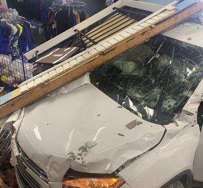 After crashing into Denham Springs store, Baton Rouge woman arrested on DWI, drug counts