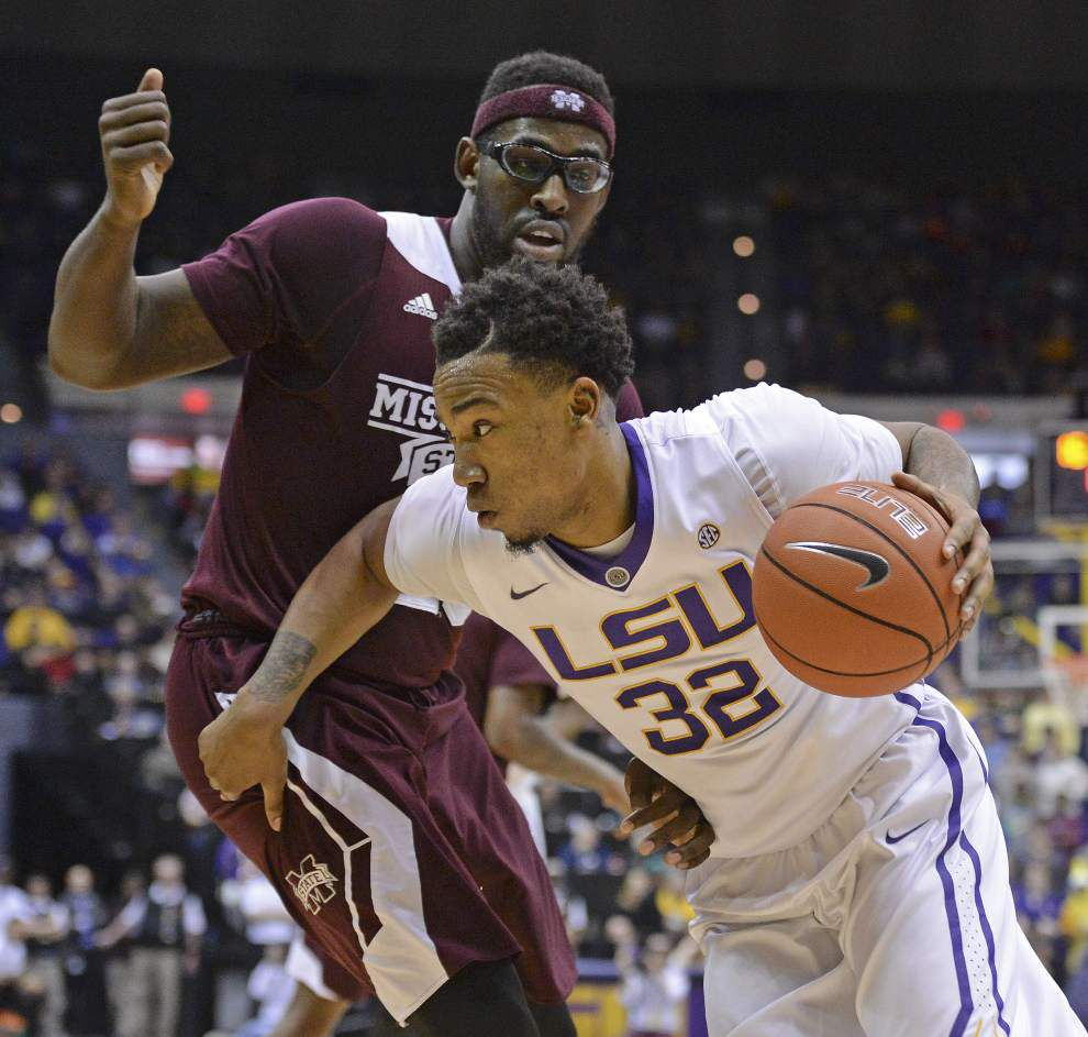 Tigers erase a slow start, stomp Mississippi State 88-77 to take sole possession of first place in the SEC _lowres