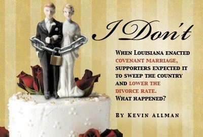 louisiana covant marriage laws divorce