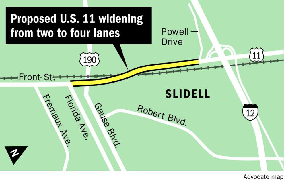 Loss of left-turn signals in state's plan to widen U.S. 11 would cause more traffic headaches, Slidell officials say _lowres