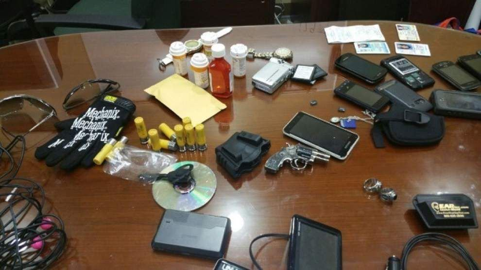 St. Tammany Parish Sheriff's Office trying to return loot like guns, GPS devices, jewelry stolen in Slidell _lowres