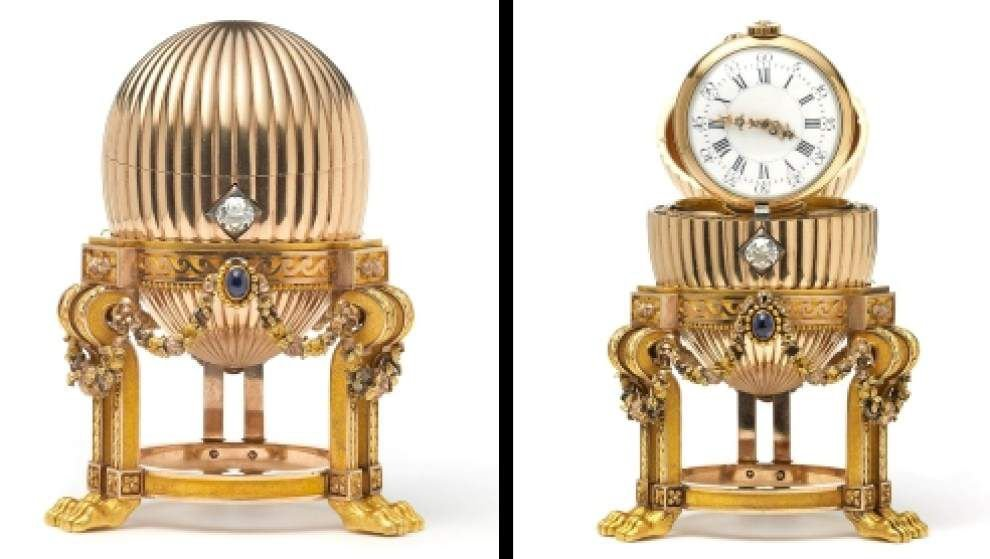 Scrap dealer's bargain turns out to be Faberge egg _lowres
