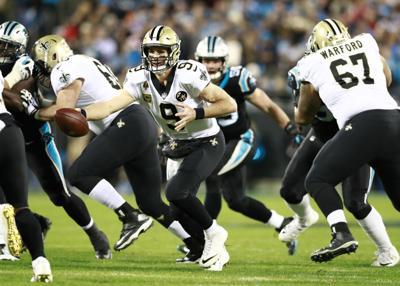 Saints Panthers Football