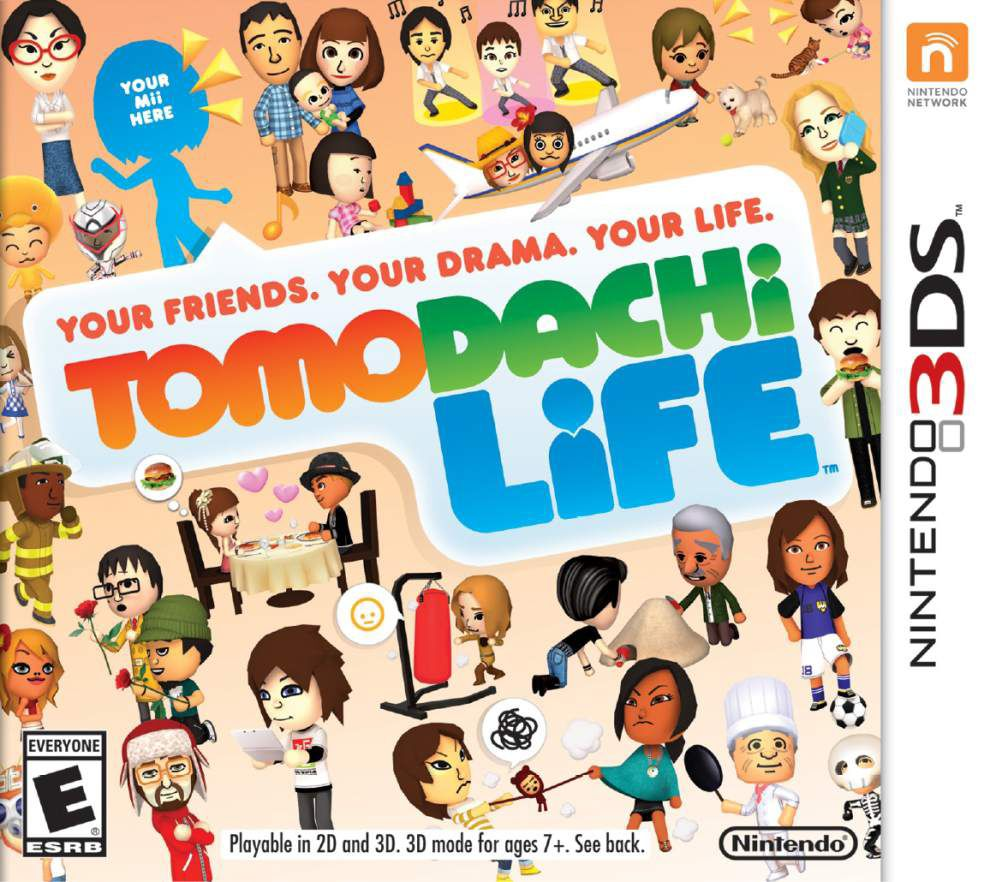 Nintendo's 'Tomodachi' colorful but dull _lowres