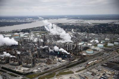 Refineries, plants prepare for high water _lowres