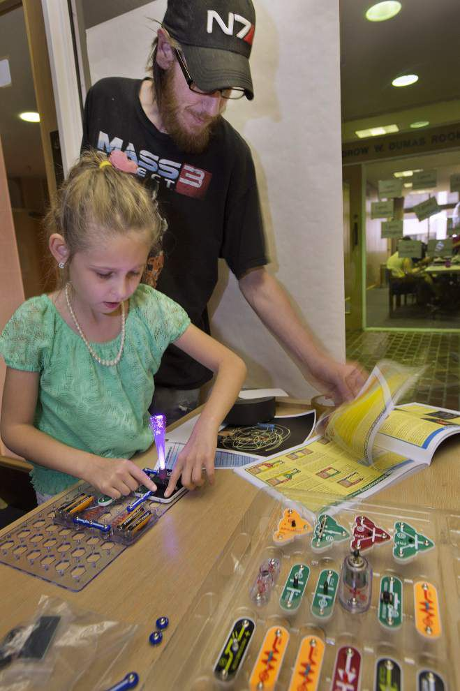 Technology, creativity focus of program for kids at Red Stick International Festival _lowres