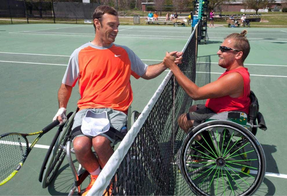 Video: Wheelchair tennis tournament celebrates 25 years in Baton Rouge _lowres