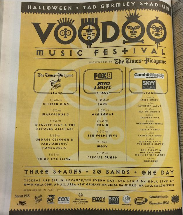 #TBT: Voodoo Music Festival 1999_lowres