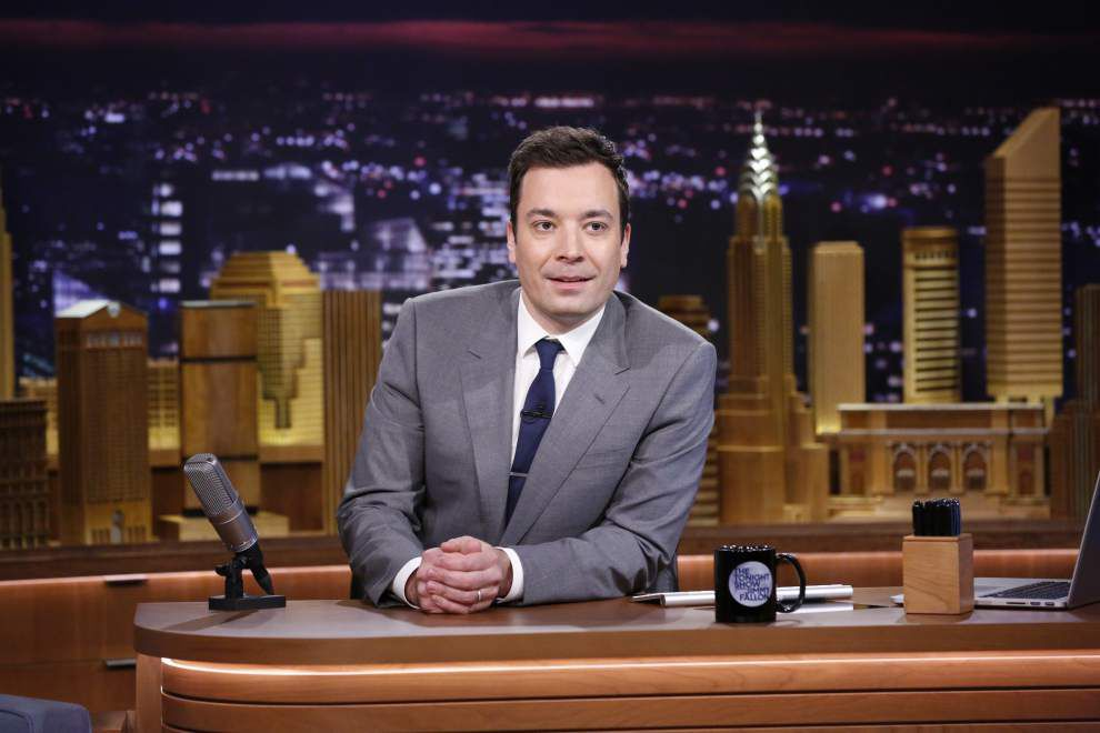 First night a hit for 'Tonight' host Jimmy Fallon _lowres