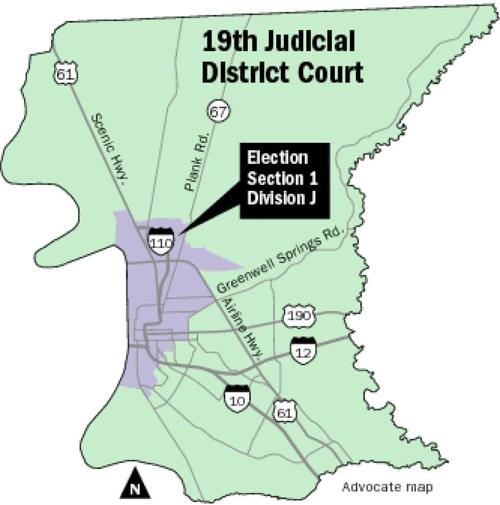 Two compete against incumbent Bonnie Jackson for judicial seat in 19th District Court _lowres