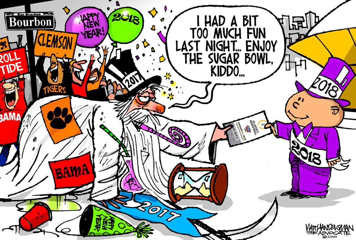 Walt Handelsman: Sugar Bowl!
