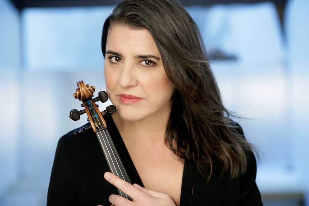 Acclaimed violinist will be the first to join Loyola's artist-in-residence program _lowres