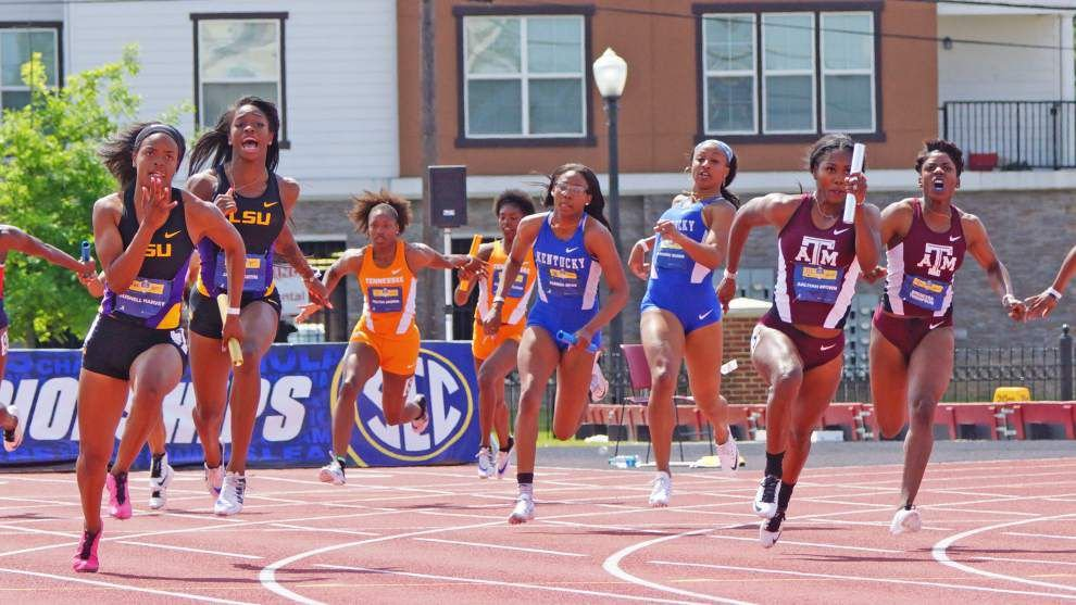 LSU track teams take advantage of opportunities at SEC meet _lowres