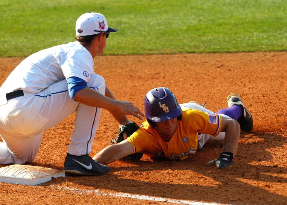 LSU baseball postgame: Tigers defeat Florida to win the SEC championship _lowres