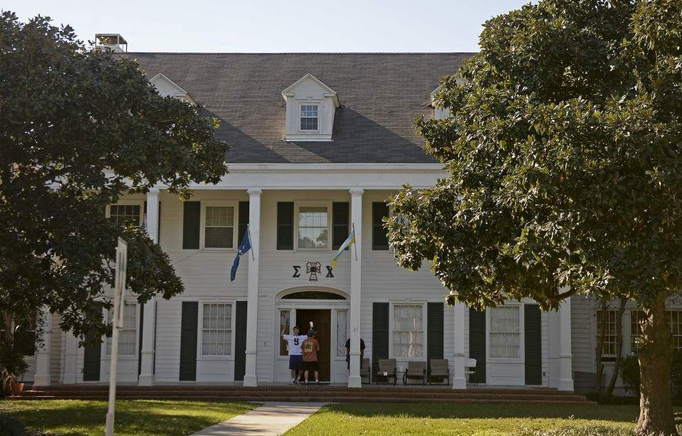 LSU fraternity lands in hot water over drugs, possibly hazing; university places it on 'interim suspension' _lowres
