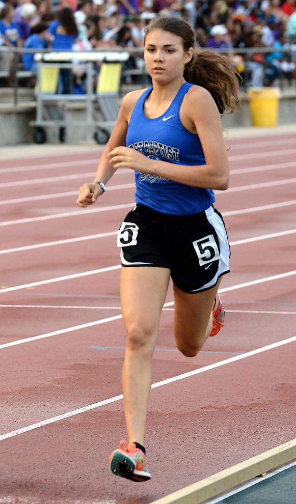 First Baptist's Gabrielle Jennings wins Gatorade Cross Country Runner of the Year award _lowres