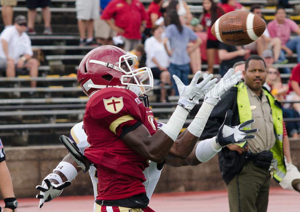 Defensive plays make difference Brother Martin's win over St. Augustine _lowres