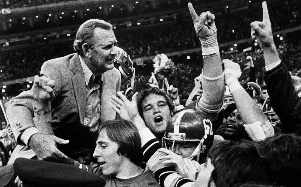 Bear Bryant, Woody Hayes and the 1978 Sugar Bowl: An all-time coaching clash _lowres