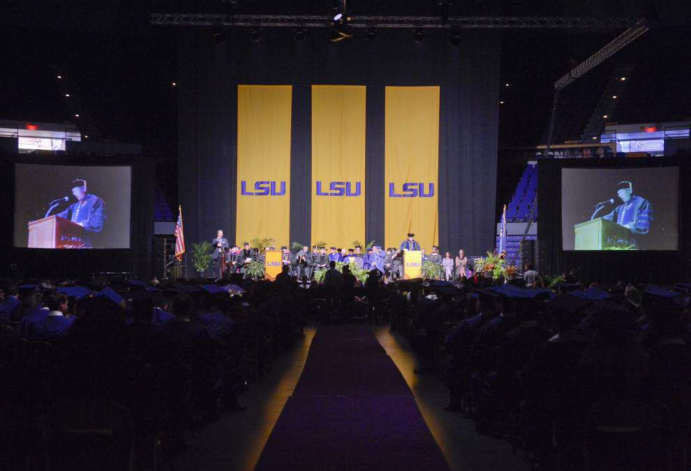 Photos: LSU mortarboards capture dreams, themes, appreciation at LSU spring commencement _lowres