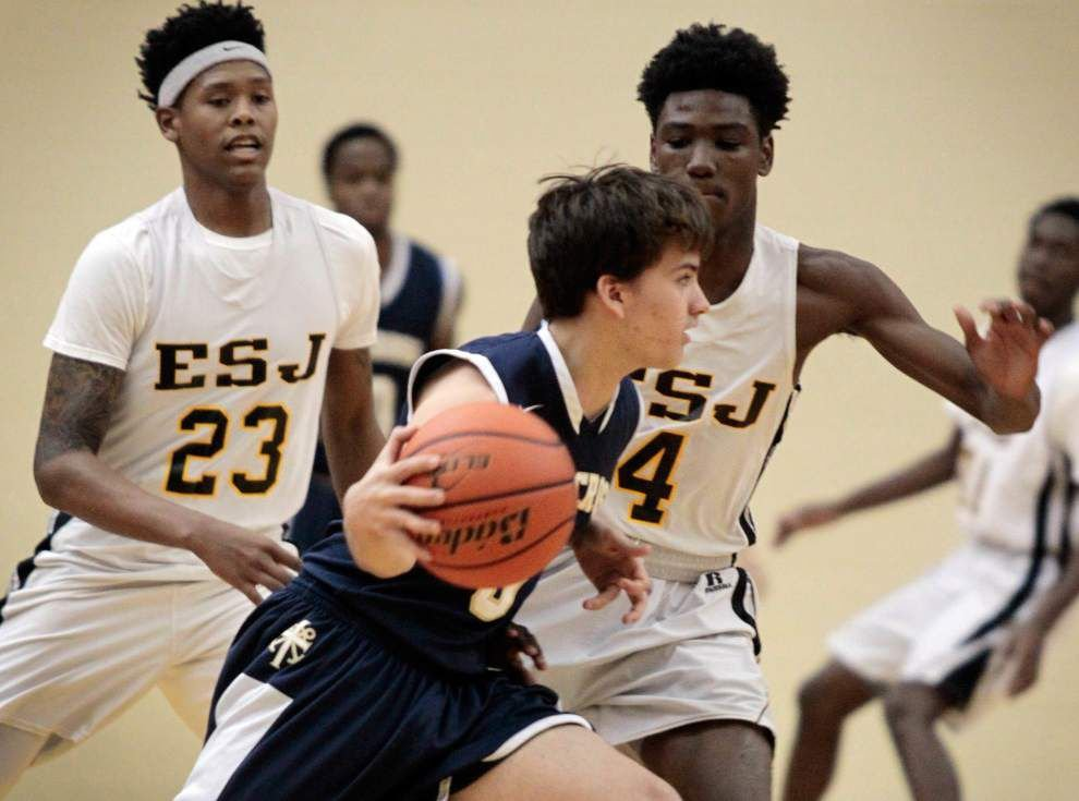 East St. John veterans Troy Green, Javon Antonio spark win over Holy Cross at Tigers' tournament _lowres