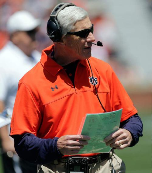 College football notebook: Auburn fires defensive coordinator Ellis Johnson _lowres