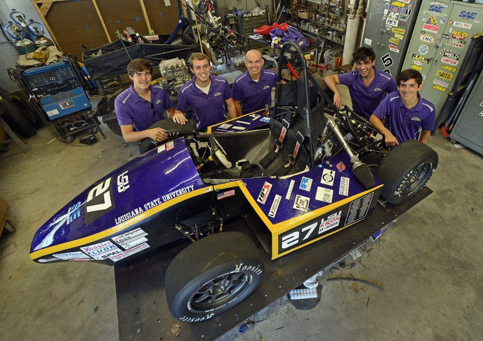 LSU Tiger Racing team competes, finishes in top 10 at Nebraska event _lowres