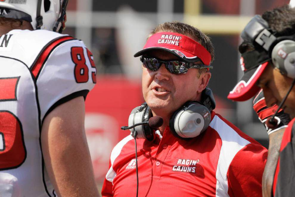 UL-Lafayette, Mark Hudspeth agree to new six-year contract _lowres