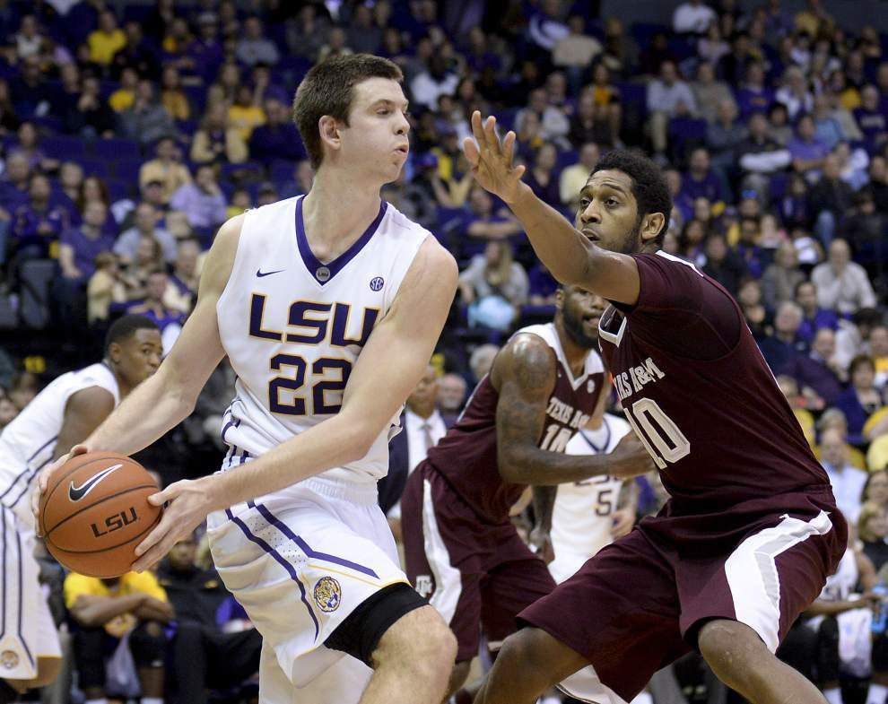 7-footer Darcy Malone is coming up big for the LSU men's basketball team _lowres