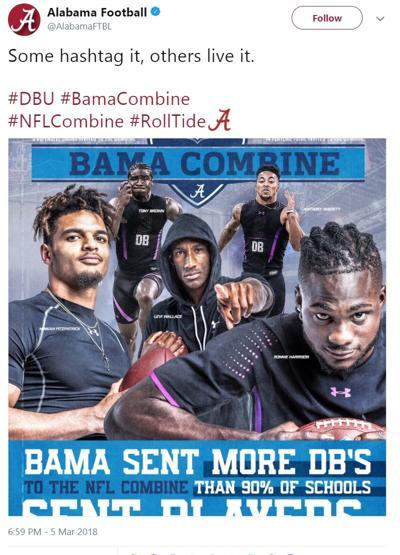 Alabama DBU tweet