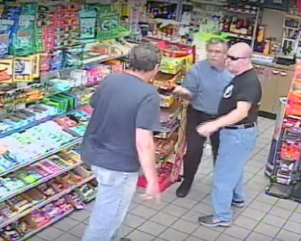 Mandeville gas station fatal shooting legally justified, DA Warren Montgomery says; see surveillance of violent encounter _lowres