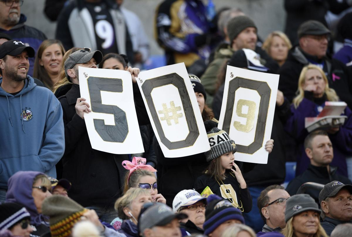Saints Ravens Football