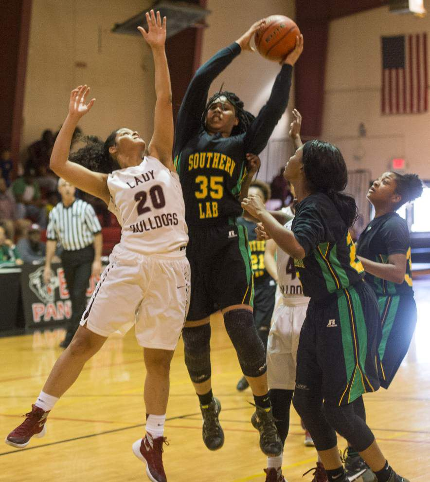 Decisive Southern Lab girls basketball team beats White Castle in game to determine District 6-1A's top seed for Class 1A playoffs _lowres