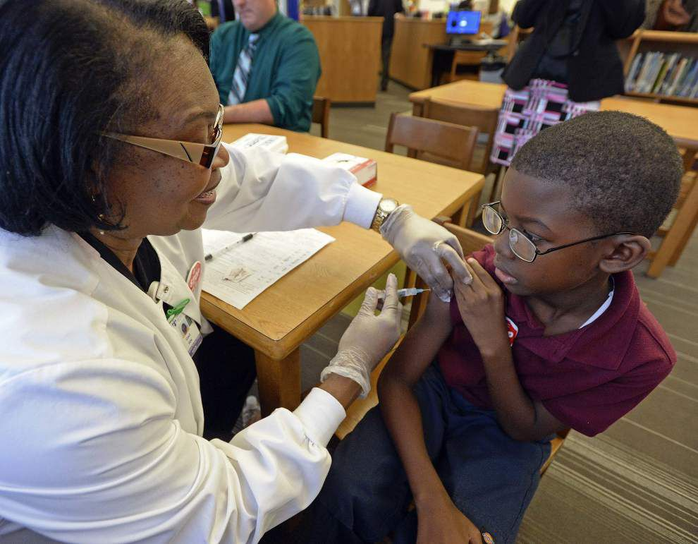 WWL-TV: Flu season continues to be mercifully quiet in Louisiana _lowres