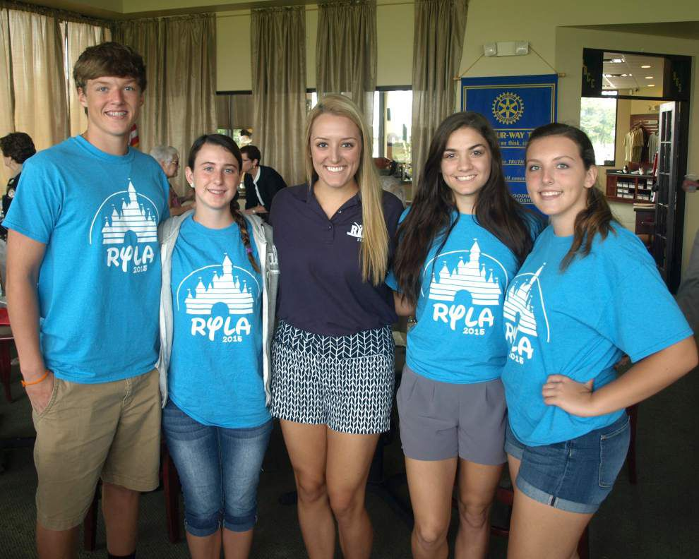 Belle Chasse Rotary Club supports leaders of tomorrow _lowres