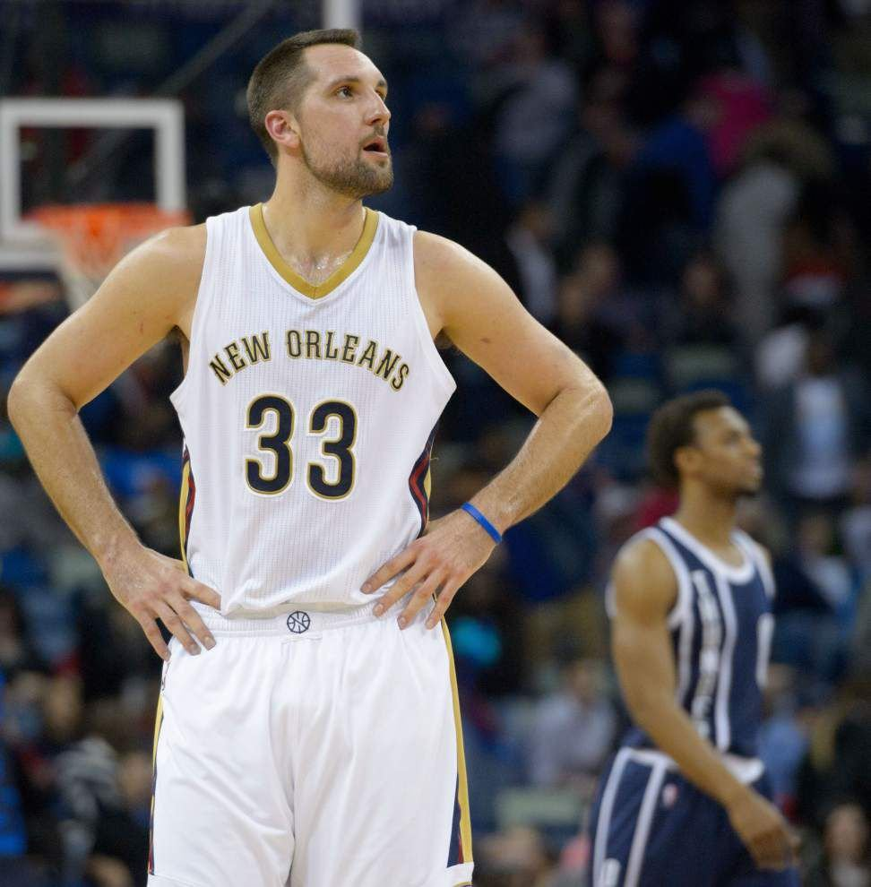 Pelicans forward Ryan Anderson set to return to the lineup during team's three-game road starting Wednesday _lowres