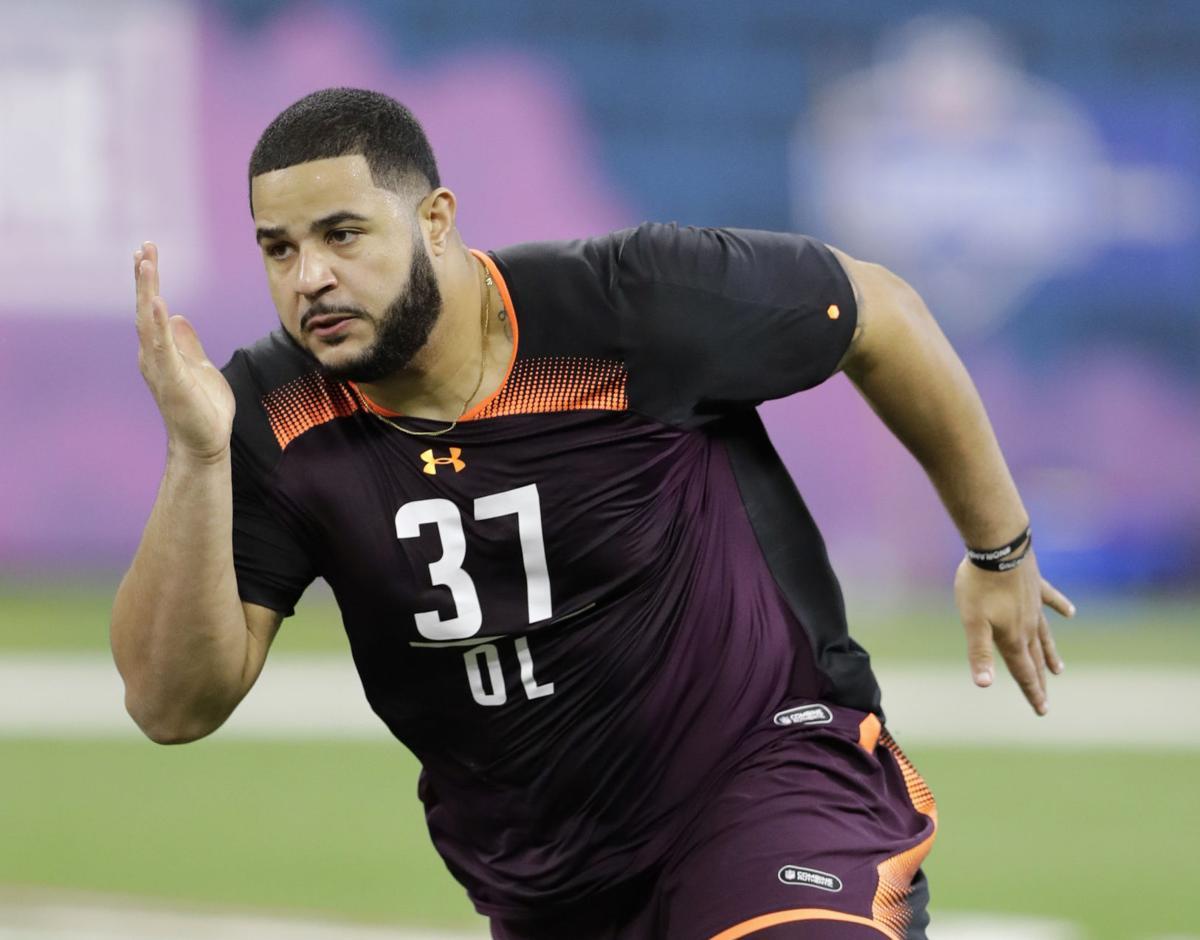 NFL Draft Erik McCoy