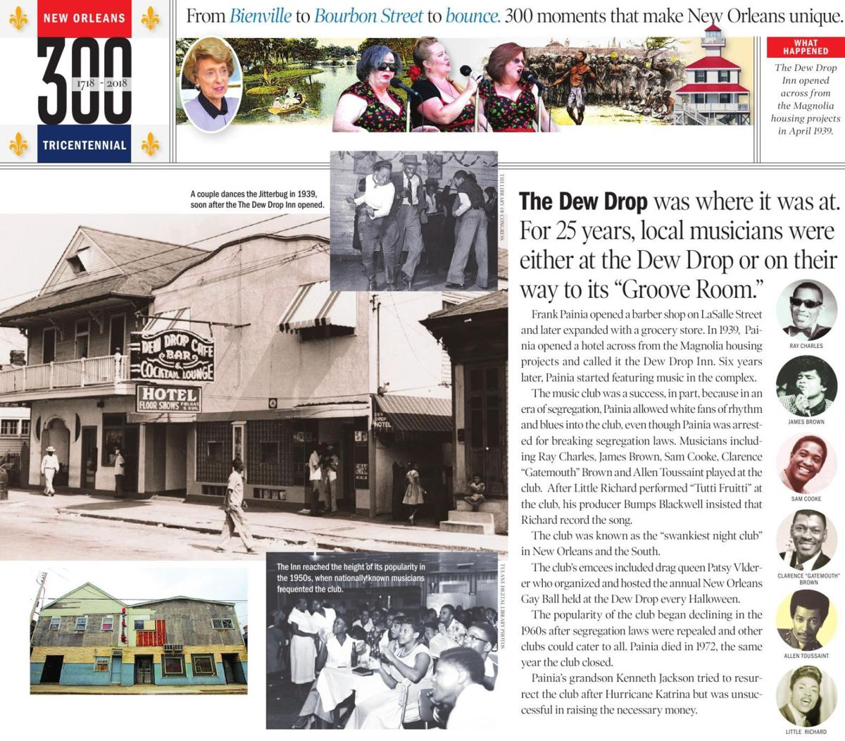 The Dew Drop Inn opened across from the Magnolia housing projects in April 1939.