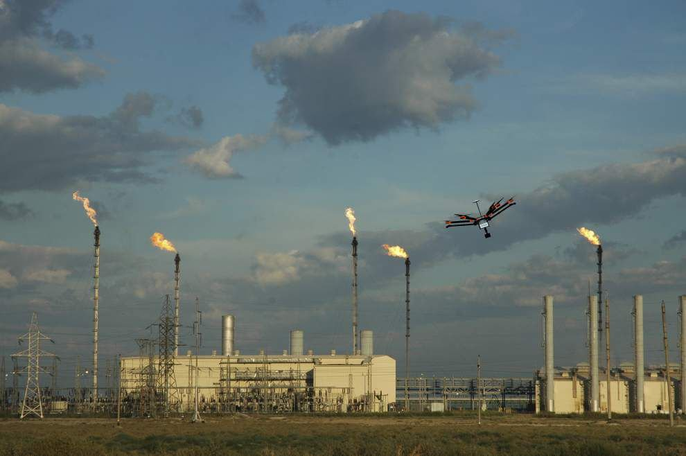 Corporations turn to drones to help reduce accidents; Dow Chemical lists Baton Rouge with its chief pilot _lowres