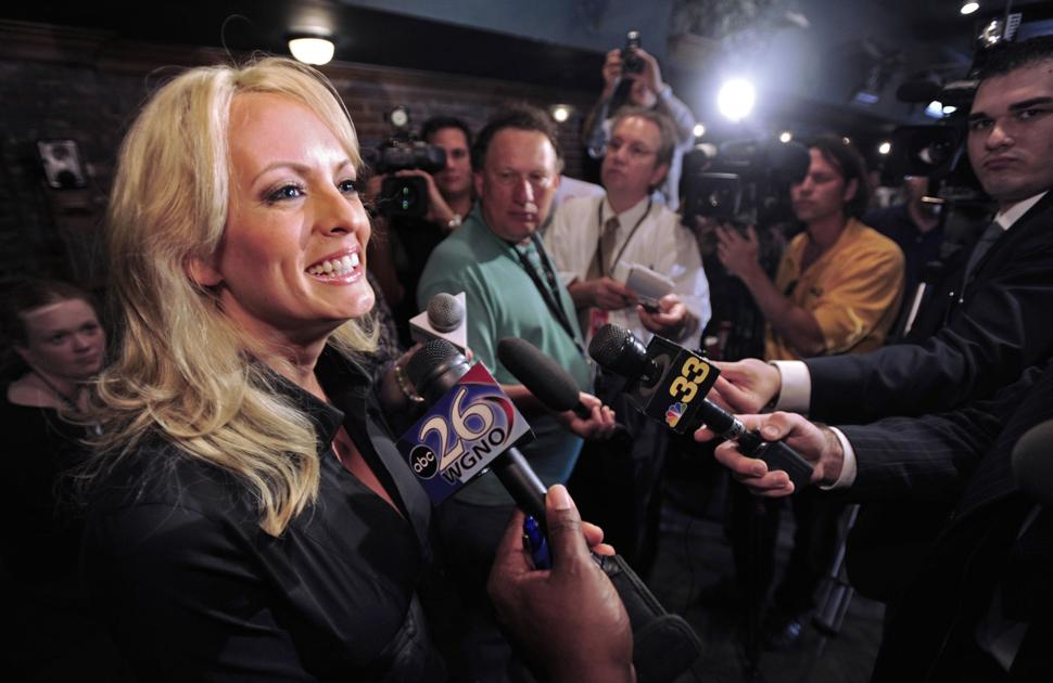 Report: Louisiana porn star Stormy Daniels paid $130K by Trump attorney in exchange for silence