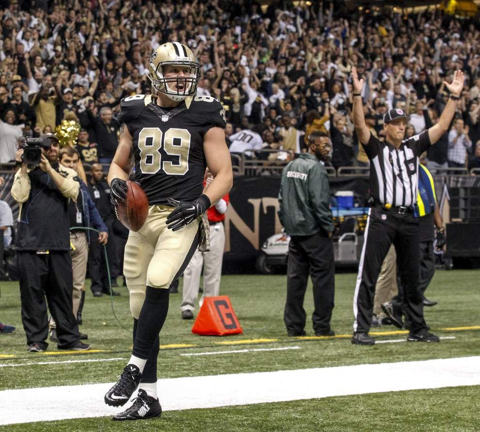 Bears sign tight end Josh Hill to offer sheet; Saints have five days to match _lowres
