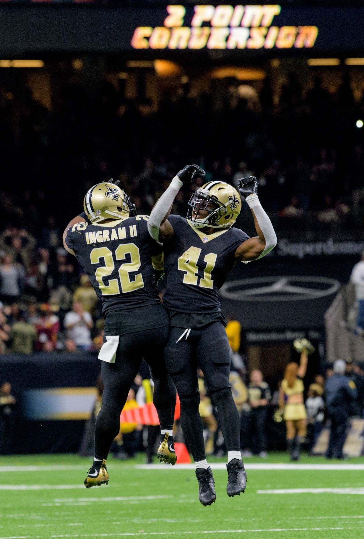 Saints vs Redskins recap See what New Orleans players coaches say about heart stopping 34 31 OT victory