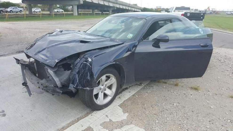 Man accused of driving onto New Orleans airport runway facing drunk-driving, hit-and-run counts _lowres