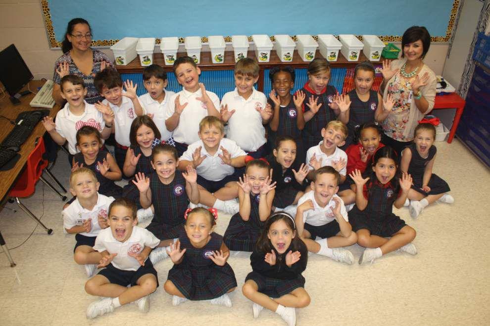 Classroom Spotlight: St. John Primary School first grade _lowres